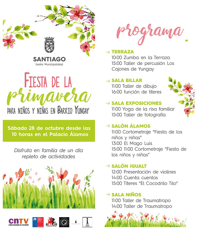 Fiesta de la Primavera para niños y niñas en Barrio Yungay – Portal ...
